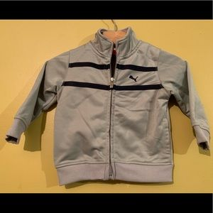 Puma Infant Grey Track Jacket 12M
